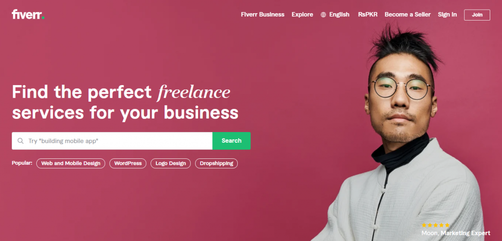 freelancing websites airschool pakistan fiverr