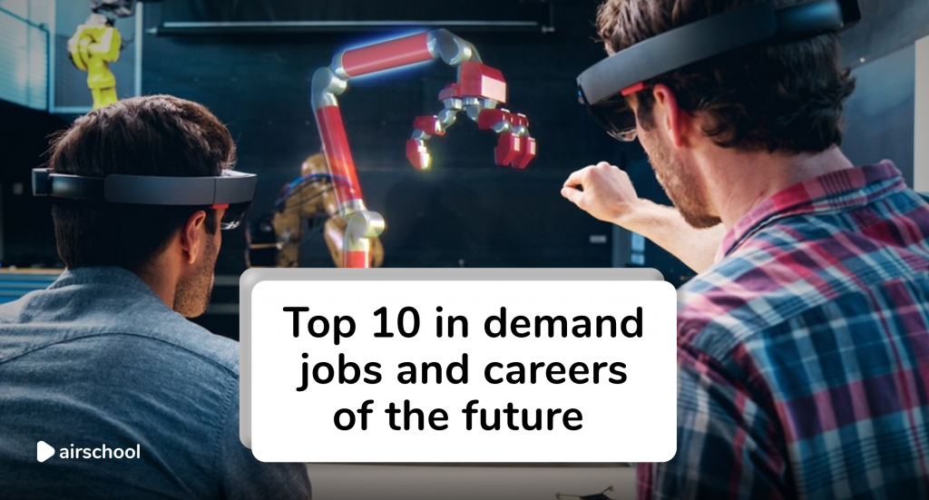 in demand jobs of the future airschool courses online