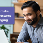 make recorded lectures more engaging