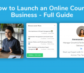 launch an online course business on airschool