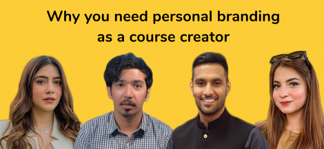 zaid ali t dananeer moroo personal branding as a course creator