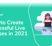 how to create live courses